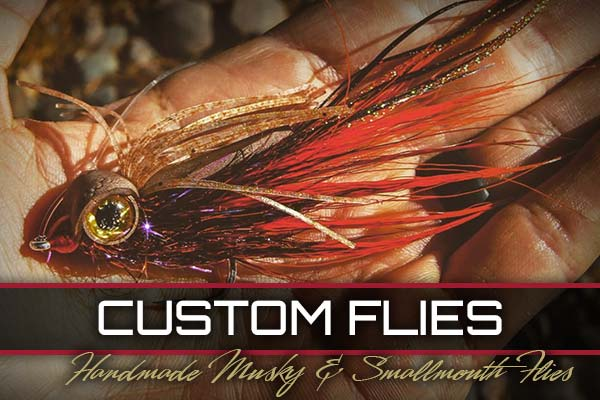 Winks Flies and Guiding Custom Flies