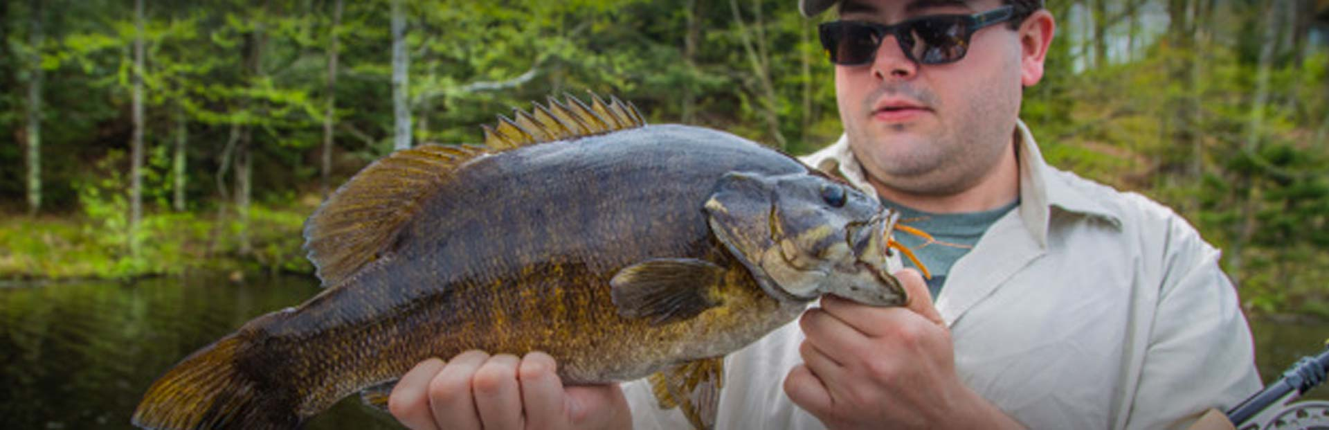 Wisconsin Guided Bass Fly Fishing